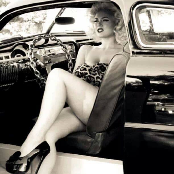 pin up car